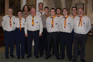 1st Harwell Scout Group Leaders